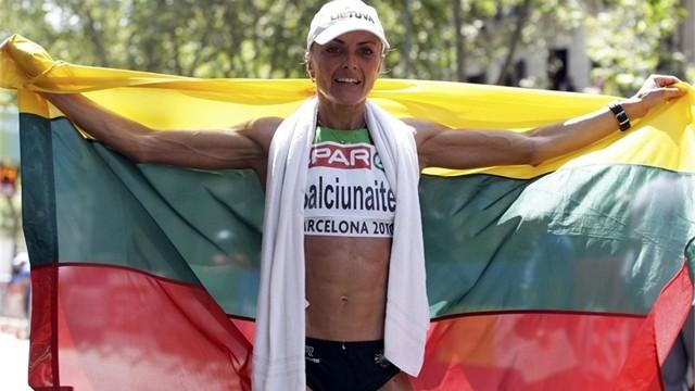 Marathon runner Zivile Balciunaite