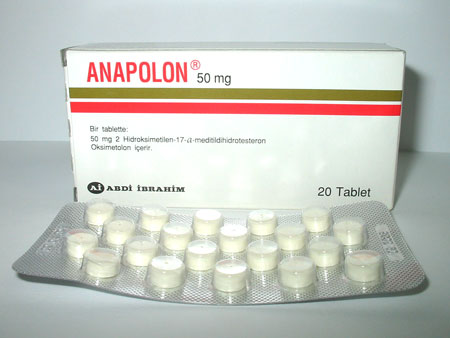 Anapolon aka Anadrol (oxymetholone)