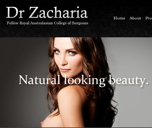 Cosmetic surgeon Michael Zacharia
