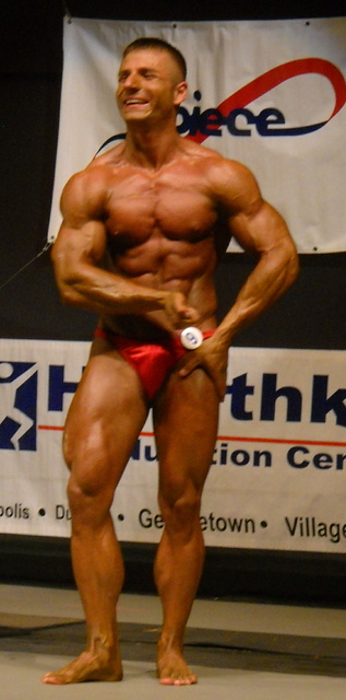 Bodybuilding Cop Busted For Steroids After Apartment